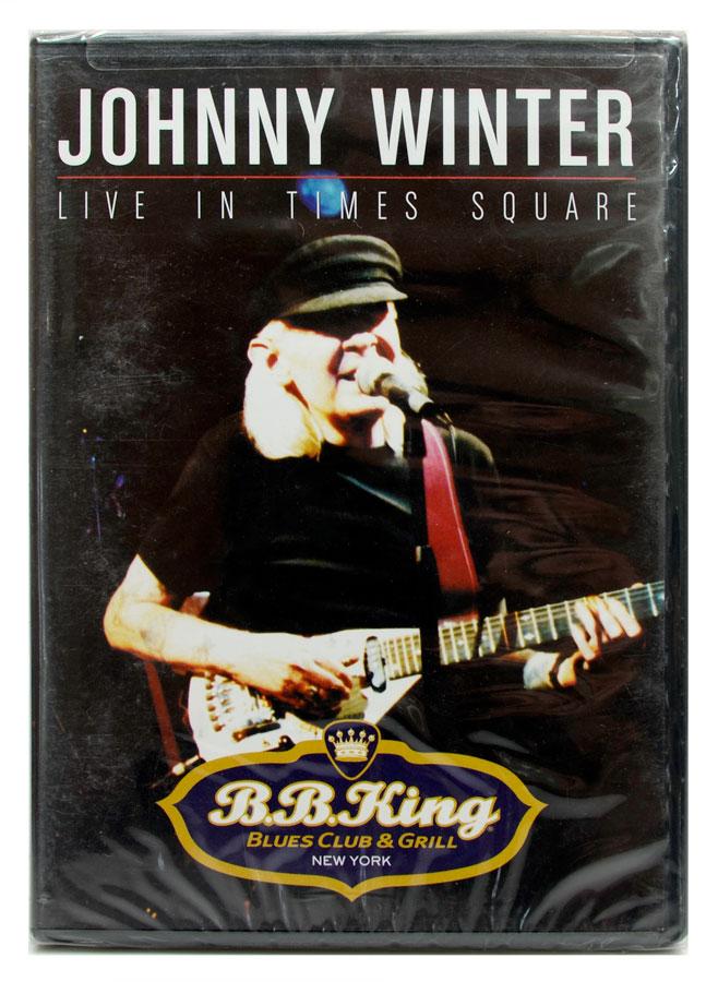 DVD Johnny Winter - Live In Times Square - Importado - Lacrado