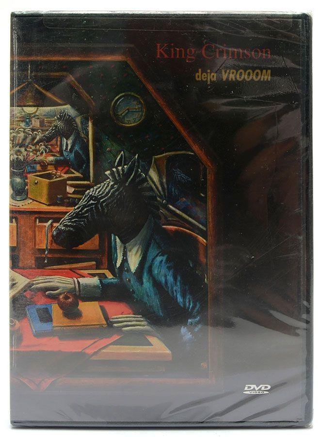 DVD King Crimson - Deja Vrooom - Importado - Lacrado