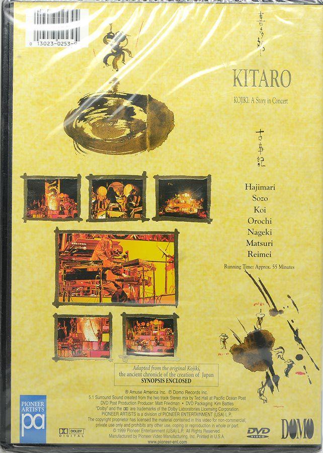 DVD Kitaro - Kojiki: A Story In Concert - Lacrado - Importado