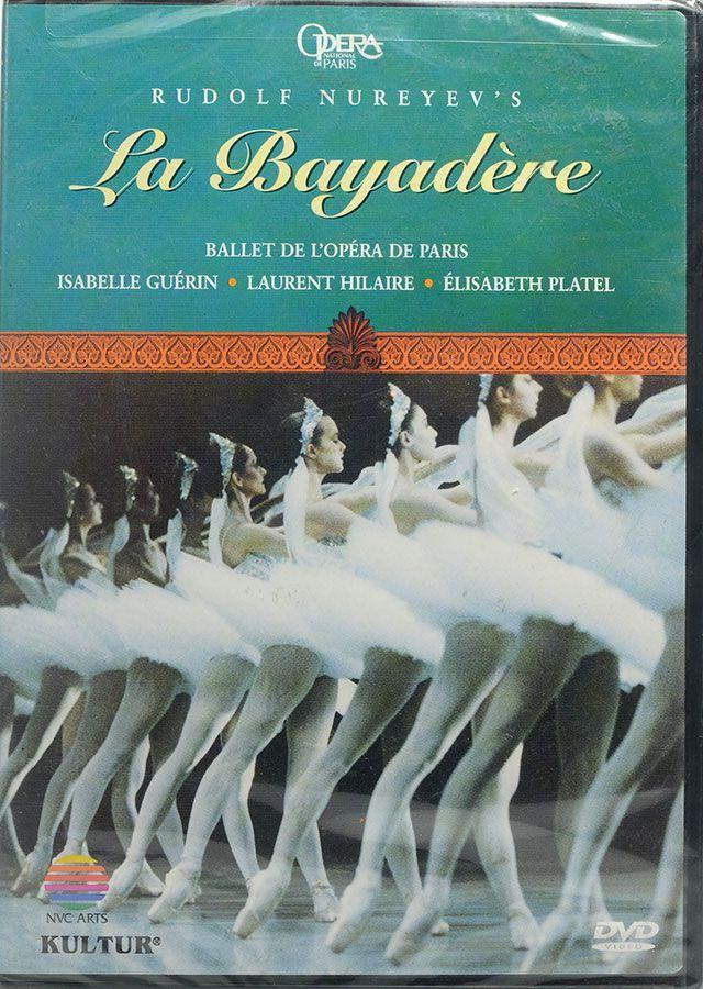 DVD La Bayadere - Rudolf Nureyev's - Lacrado - Importado