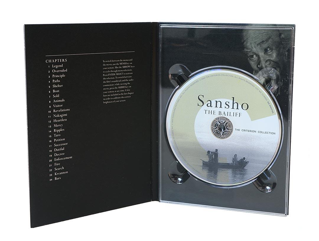 DVD + Livro Sansho The Bailiff - O Intendente Sansho - The Criterion Collection (região 1) - Lacrado