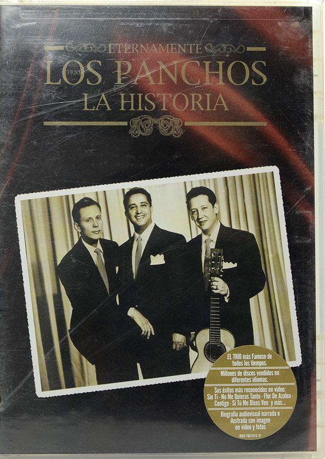 DVD Los Panchos - La Historia - Lacrado - Importado