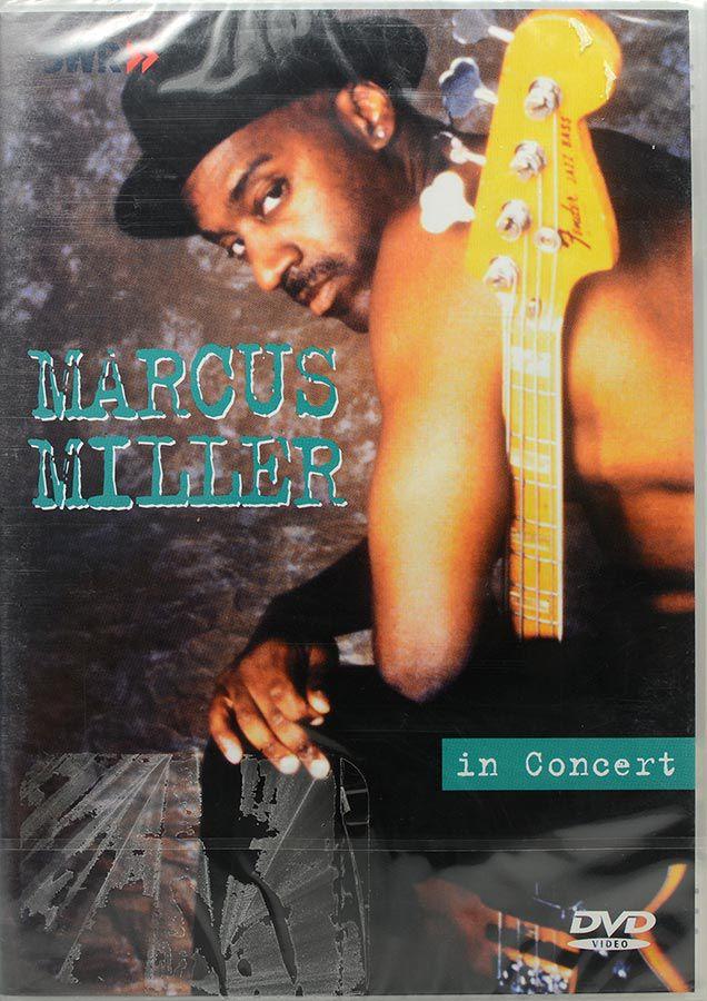 DVD Marcus Miller - In Concert - Lacrado - Importado
