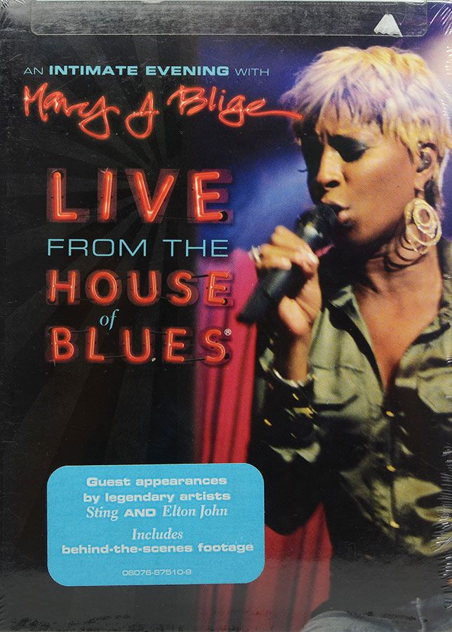DVD Mary J Blige - Live From The House Of Blues - Lacrado - Importado