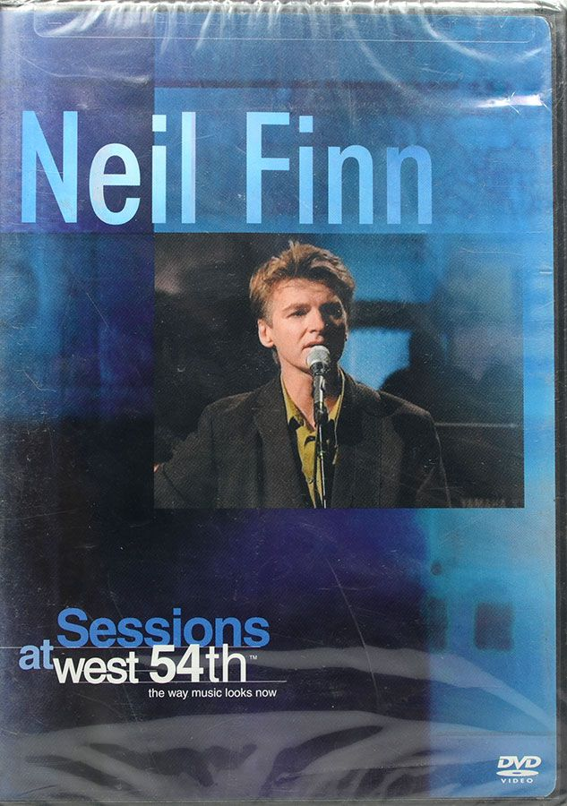 DVD Neil Finn - Session At West 54Th - The Way Music Looks Now - Lacrado - Importado