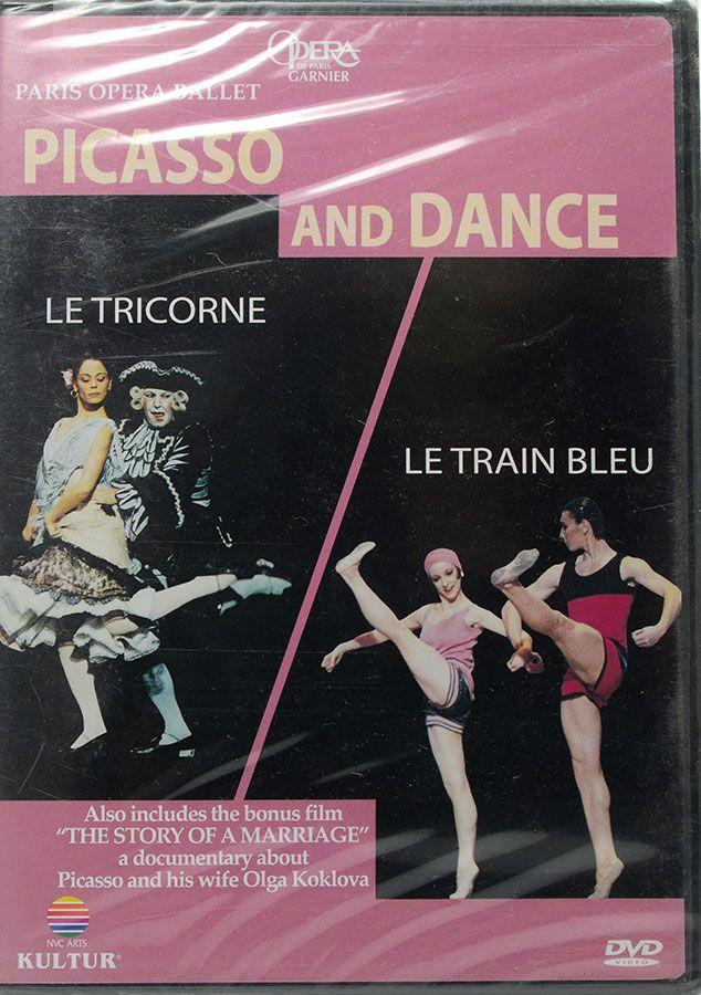 DVD Paris Opera Ballet Picasso And Dance - Lacrado - Importado