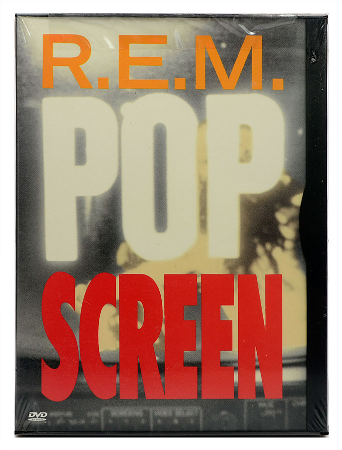 DVD R.E.M - Pop Screen - Importado - Lacrado