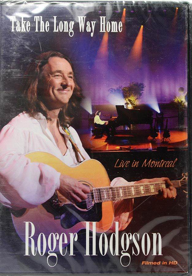 DVD Roger Hodgson - Take The Long Way Home - Lacrado - Importado