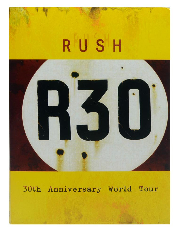 DVD Rush - R30: 30th Anniversary World Tour - Duplo / Digipack - Lacrado