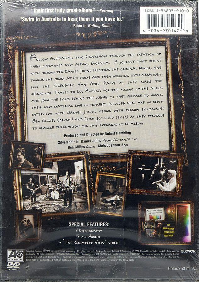DVD Silverchair Across The Night The Creation Of Diorama - Lacrado - Importado