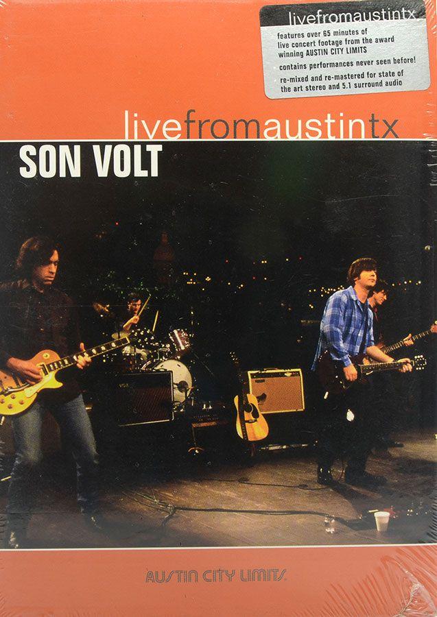 DVD Son Volt - Live From Austin TX - Lacrado - Importado