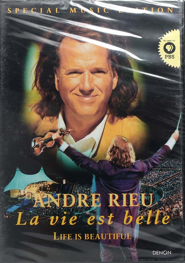 DVD Special Music Edition - Andre Rieu La Vie Est Belle - Lacrado - Importado