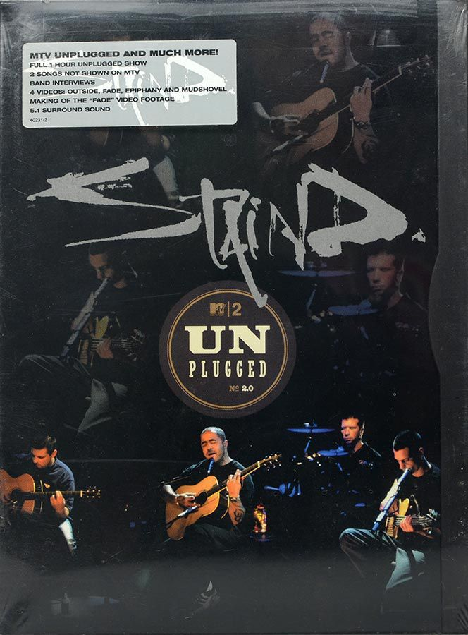 DVD Staind - MTV Unplugged N 2 - Lacrado - Importado
