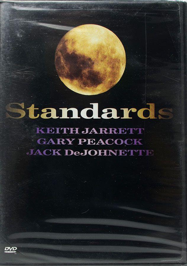 DVD Standards - Keith Jarrett Gary Peacock Jack Dejohnette - Lacrado - Importado