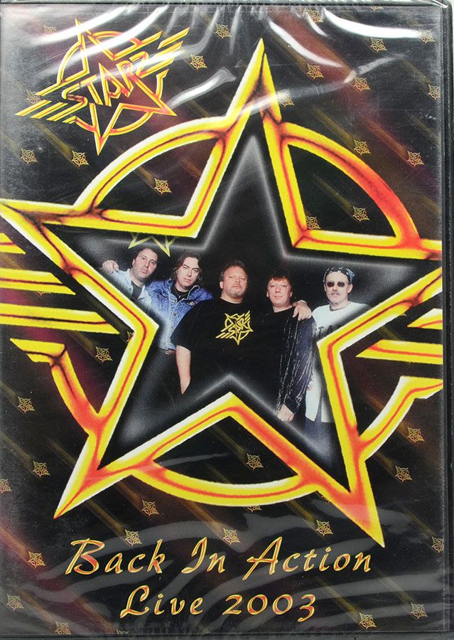 DVD Star Back In Action: Live 2003 - Lacrado - Importado