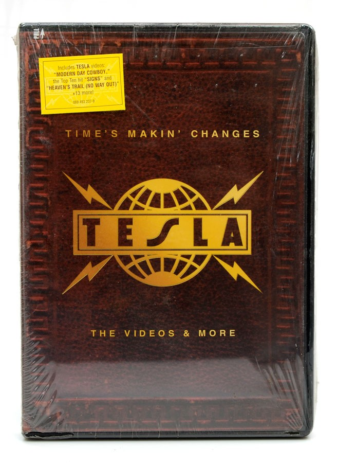 DVD Tesla - Time's Makin' Changes - The Videos & More - Importado - Lacrado