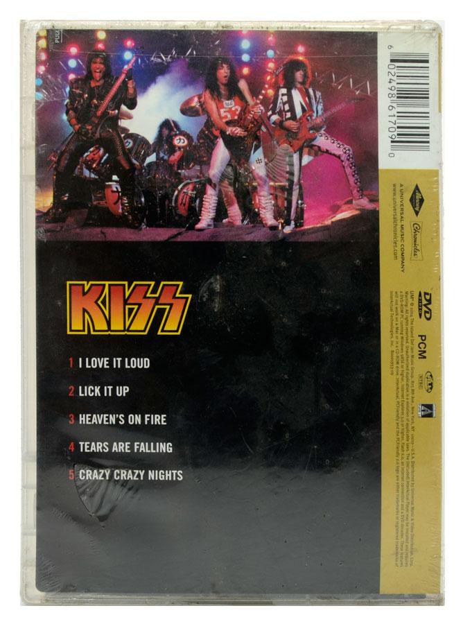 DVD The Best Of Kiss - 20th Century Masters - Importado - Lacrado