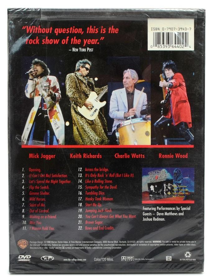 DVD The Rolling Stones - Bridges To Babylon Tour 97-98 - Importado - Lacrado