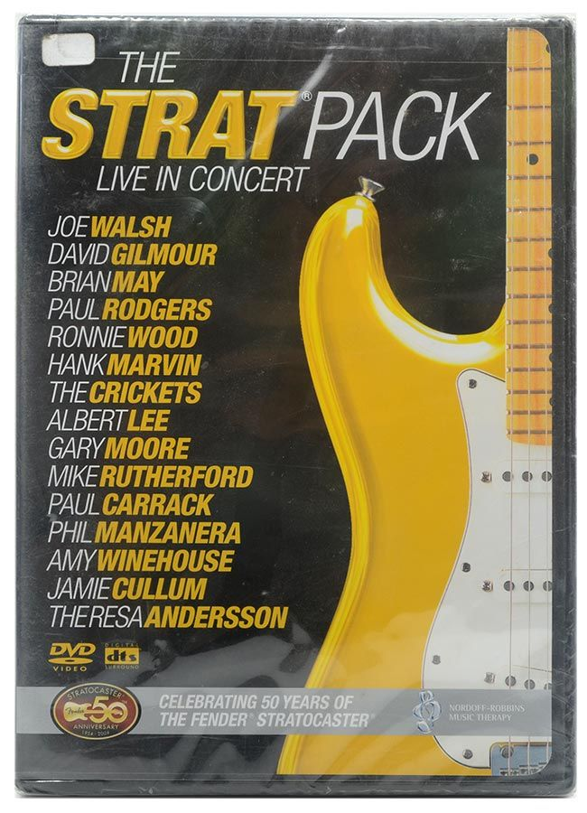 DVD The Strat Pack - Live In Concert - Lacrado - Importado