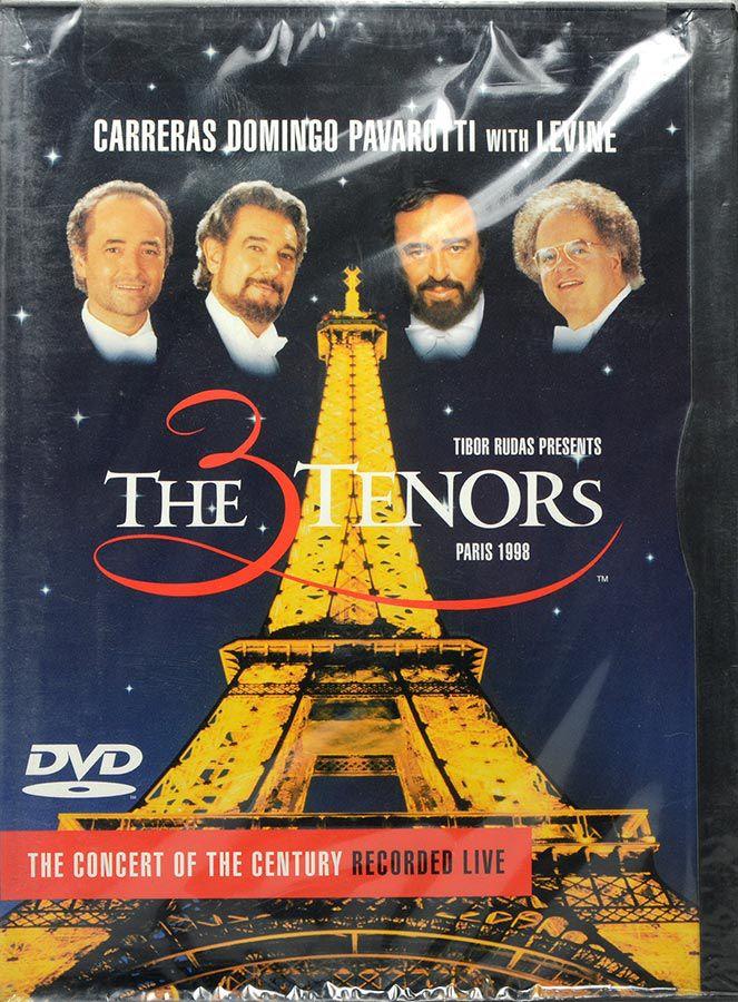 DVD The Tenors - Carreras Domingo Pavarotti With Levine - Lacrado - Importado