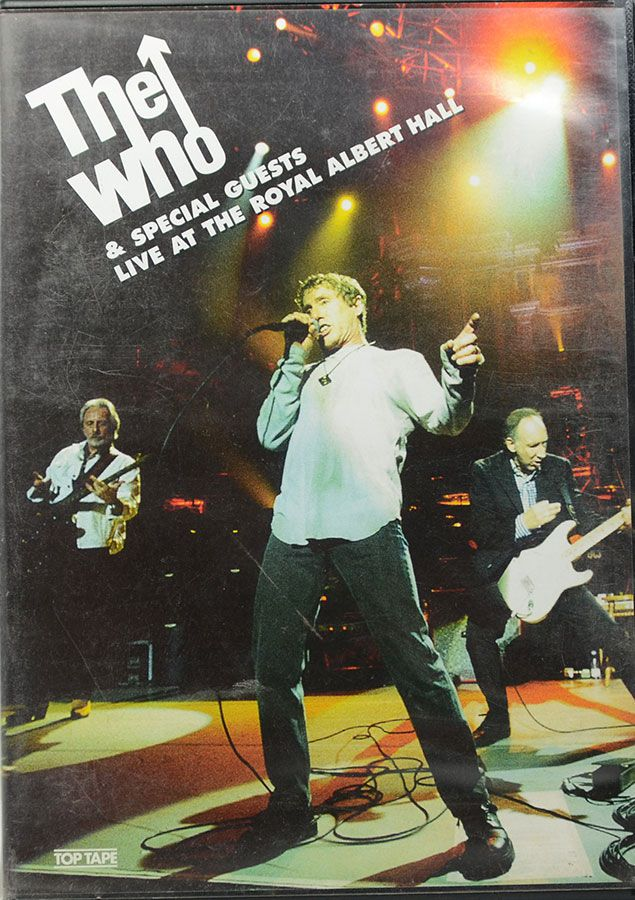 DVD The Who - & Special Guests Live At The Royal Albert Hall
