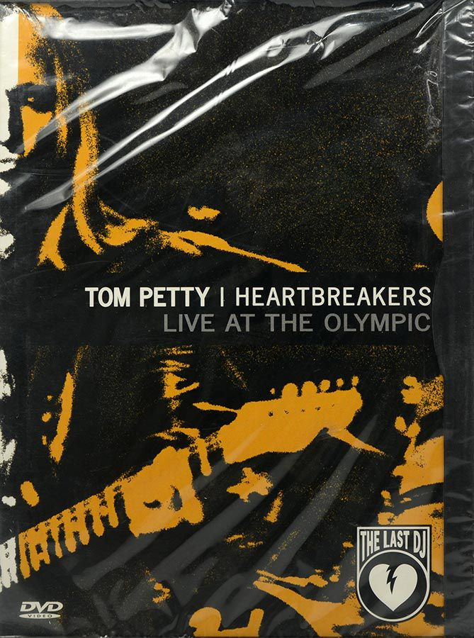 DVD Tom Petty - Heartbreakers - Live At The Olympic - Lacrado - Importado