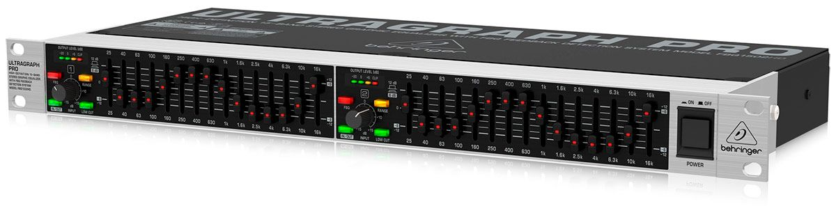 Equalizador Ultragraph Pro FBQ-1502HD Behringer 15 Bandas NF