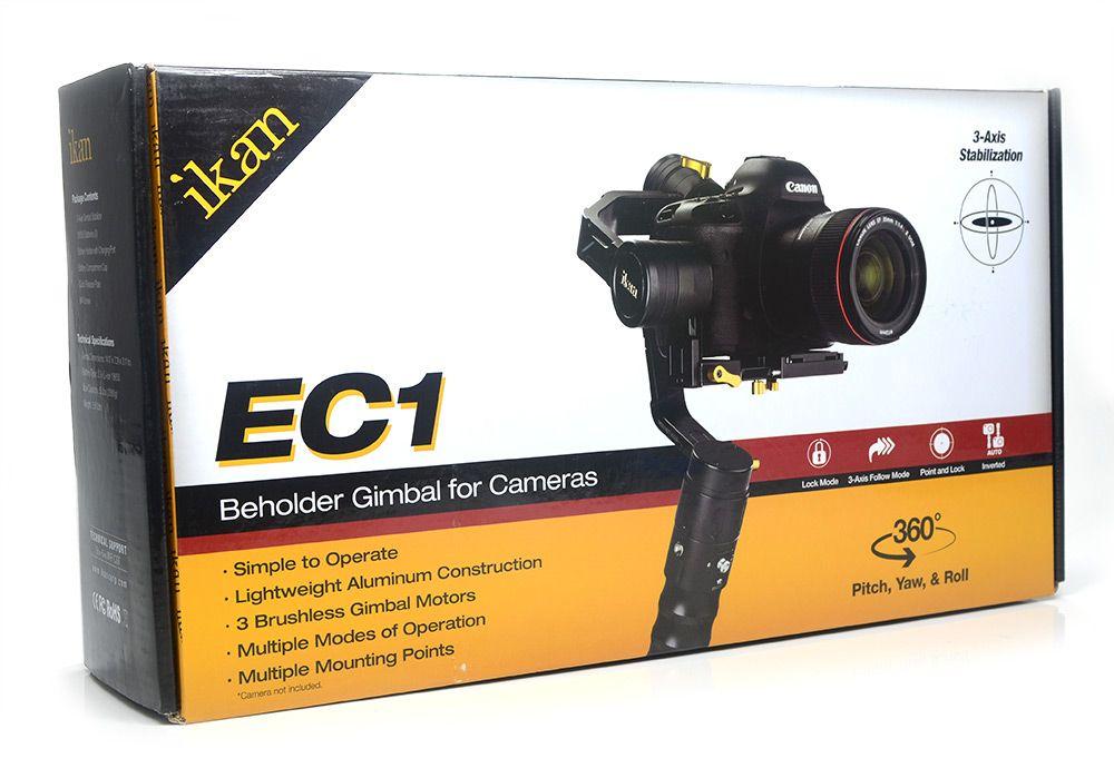 Estabilizador Gimbal Ikan EC1 3-Eixos - Nota Fiscal Na Caixa