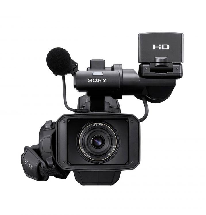 Filmadora Sony HXR-MC2000N AVCHD HD/SD CMOS Exmor 64GB 12x Zoom