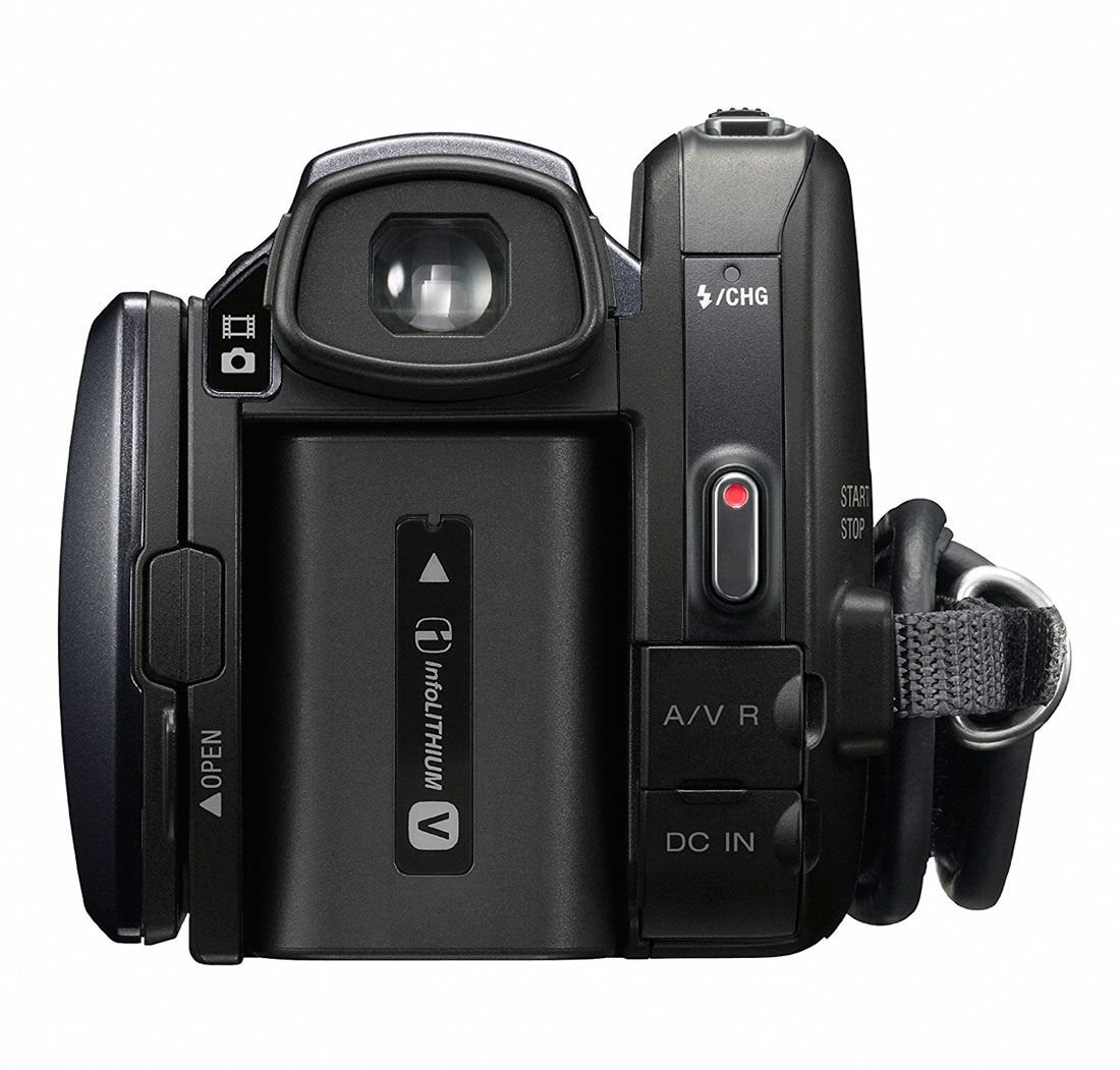 Filmadora Sony HDR-XR550V 240GB HD Handycam 12MP Full HD - Nova - Na Caixa - Garantia