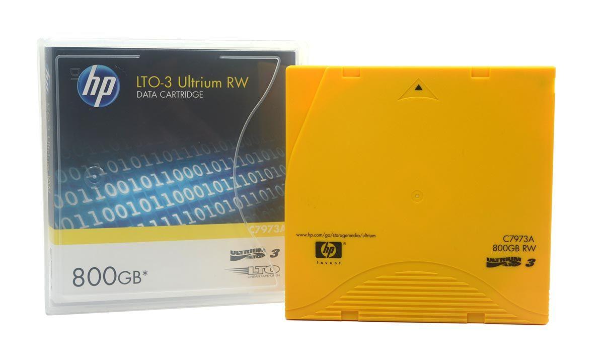 Fita de Dados HP LTO-3 Ultrium RW 800GB - C7973A