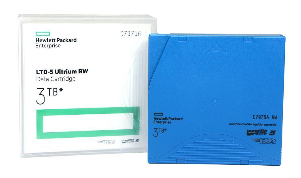 Fita de Dados HP LTO-5 Ultrium RW 3TB - C7975A