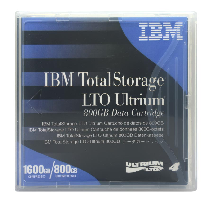 Fita de Dados IBM LTO-4 Ultrium RW 800gb / 1600gb - 95P4436