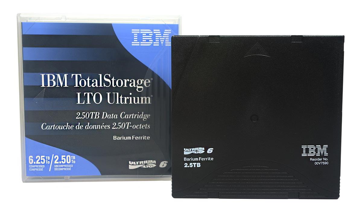 Fita De Dados IBM Lto Ultrium 6 2.50tb / 6.25tb - 00V7590