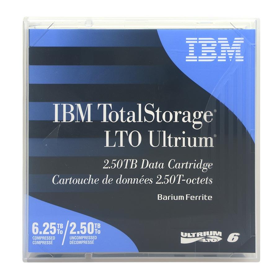 Fita De Dados IBM LTO-6 Ultrium 2.50tb / 6.25tb - 00V7590