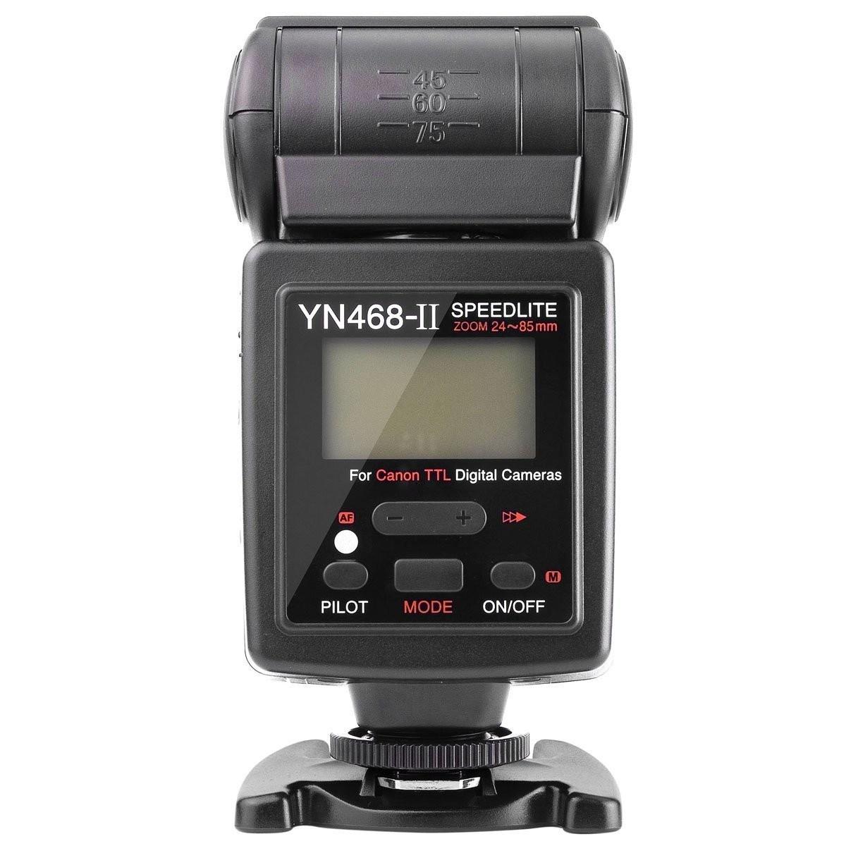 Flash Youngnuo Speedlite YN468-II c/ TTL p/ Canon