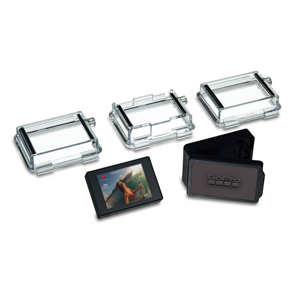GoPro LCD Touch BacPac - Tela LCD Touch p/ GoPro Hero 4 3 3+