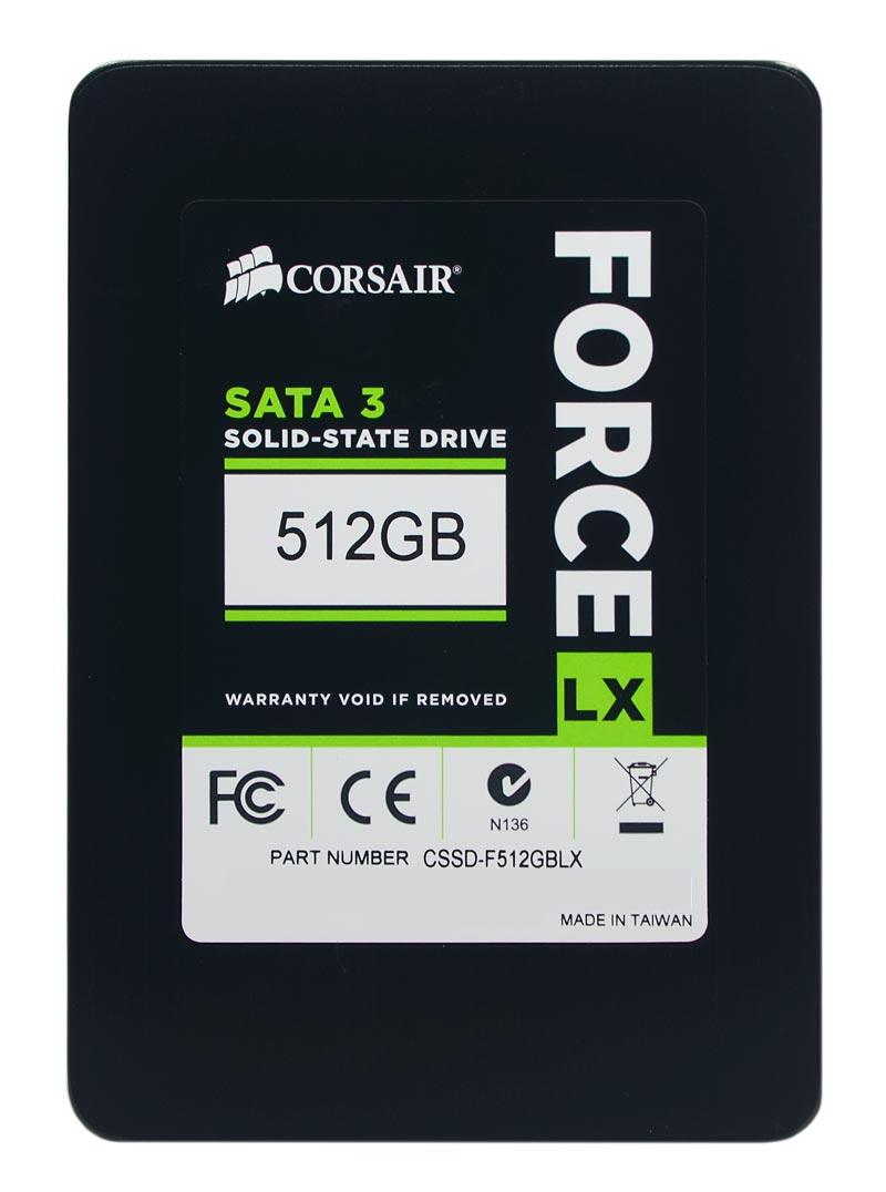 HD SSD Corsair Force LX 512GB SATA 3 2.5