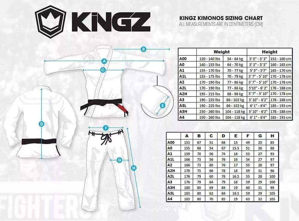 Kimono Kingz 420G Vintage Collection - Branco A3L C/ Mancha