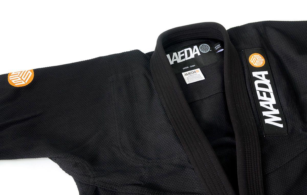 Kimono Maeda Gakusei Jiu Jitsu Gi - Preto