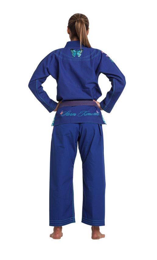 Kimono Storm Grace Butterfly Gi Jiu-Jitsu Feminino - Azul