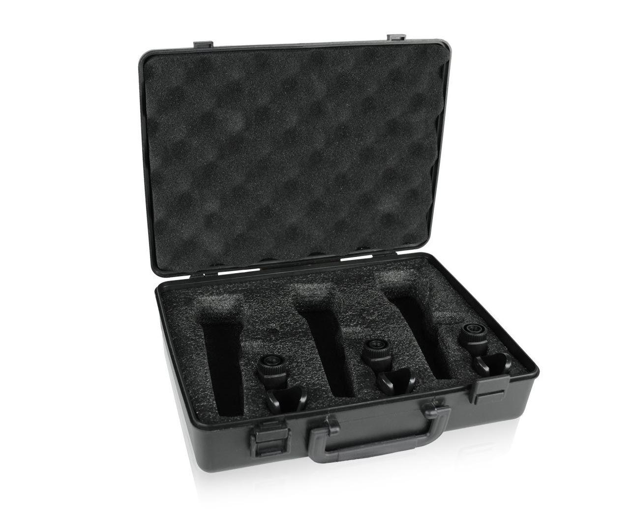 KIT c/ 3 Microfones Dinâmicos Behringer XM1800S + CASE - NOTA FISCAL