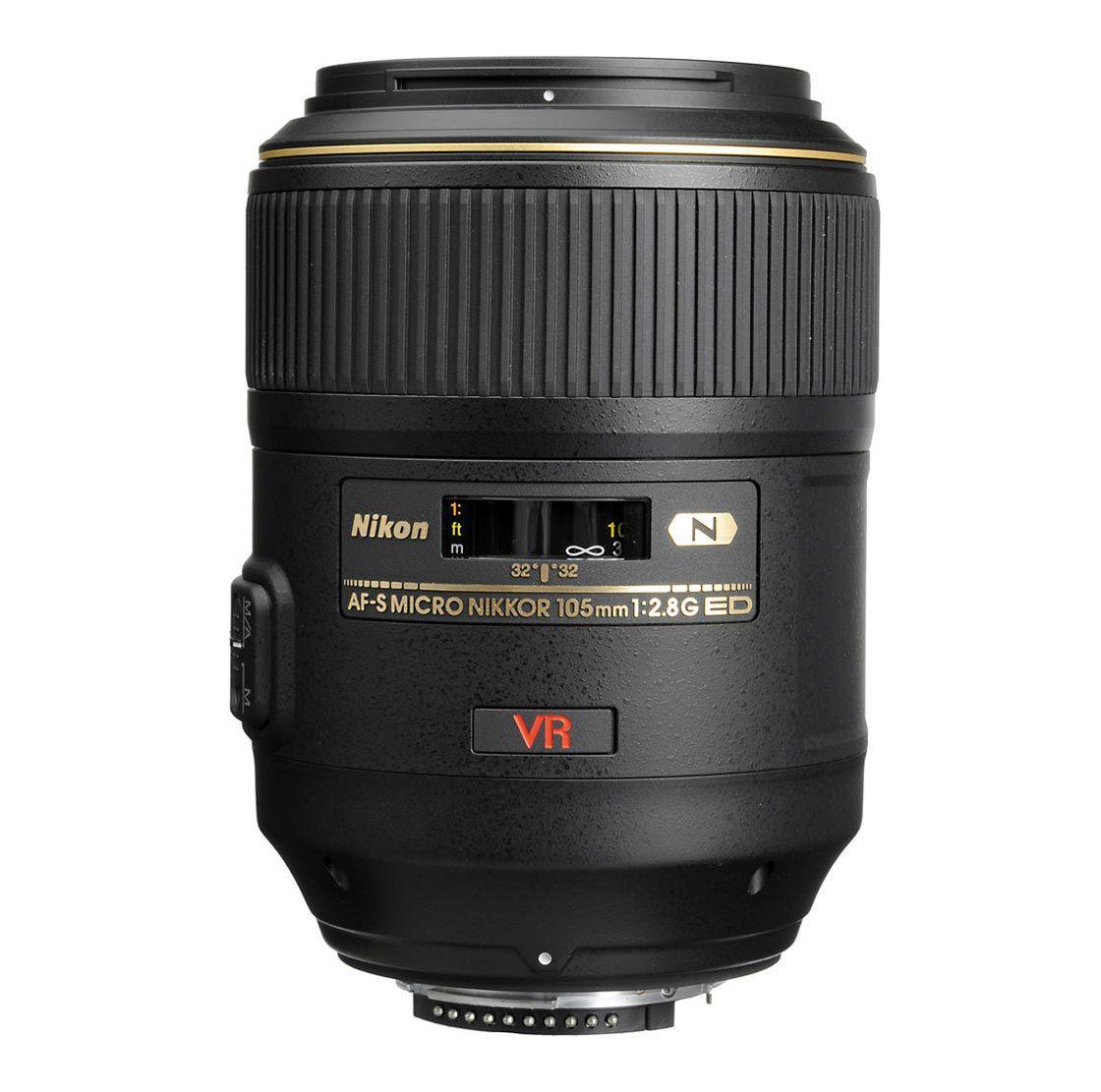 Lente Nikon AF-S VR Micro-Nikkor 105mm f/2.8G IF-ED - Outbox