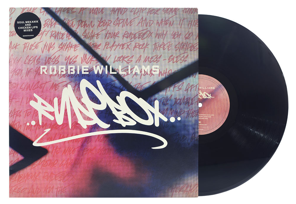 Lp Vinil Robbie Williams - Rudebox (Single - Importado EU) - Lacrado