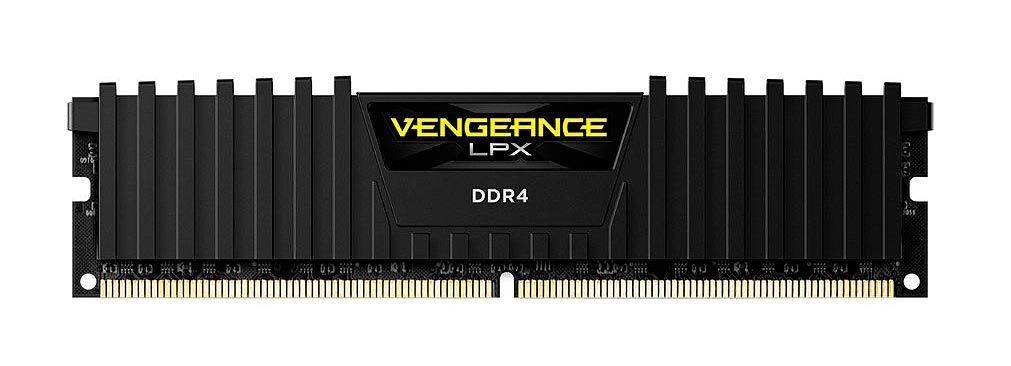 Memoria Corsair Vengeance LPX 16GB (1X16GB) DDR4 2400MHZ BLACK - CMK16GX4M1A2400C16