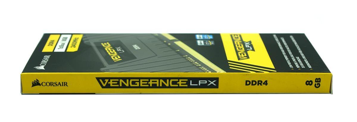 Memoria Corsair Vengeance LPX 8GB (1X8GB) DDR4 2400MHz - BLACK