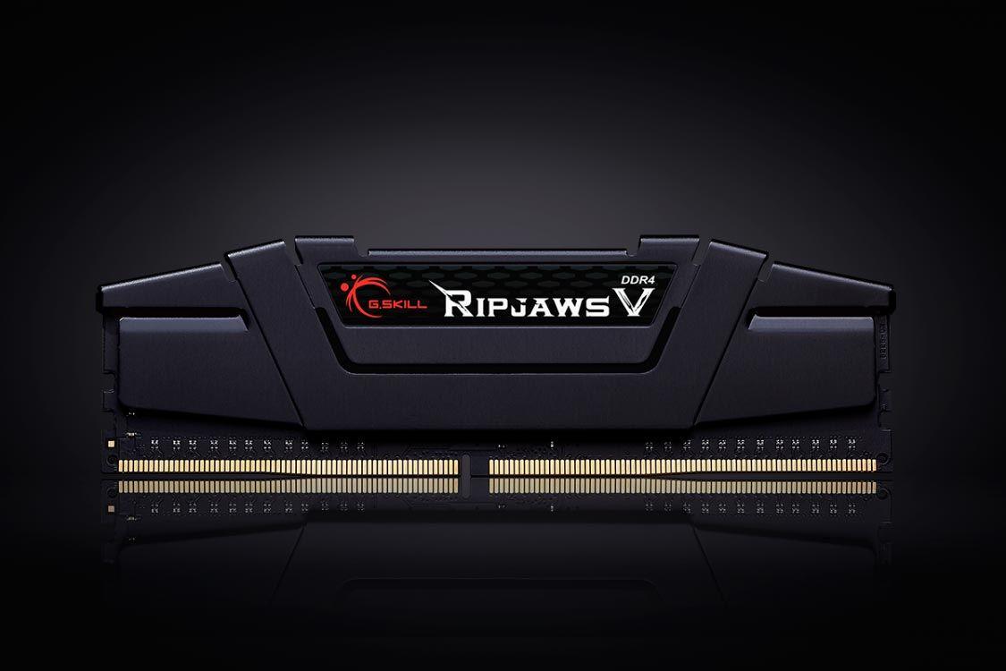 Memória G.Skill Ripjaws V 32gb (2x16gb) Ddr4 3200mhz PC4-25600 - F4-3200C16D-32GVK