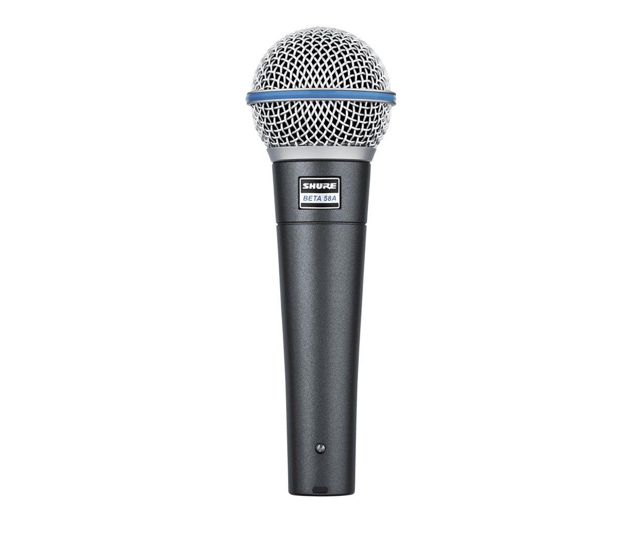 Microfone Shure BETA 58A - Supercardioide - Original - Made In Mexico