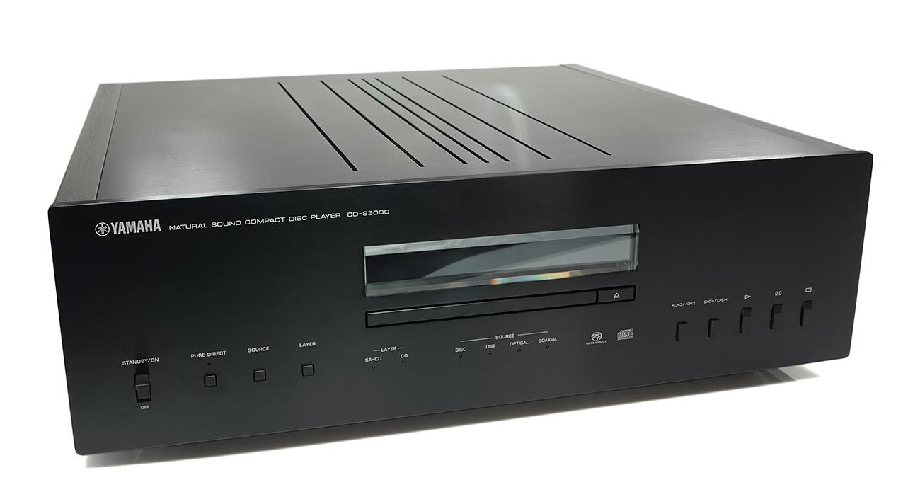 Natural Sound CD Player Yamaha CD-S3000
