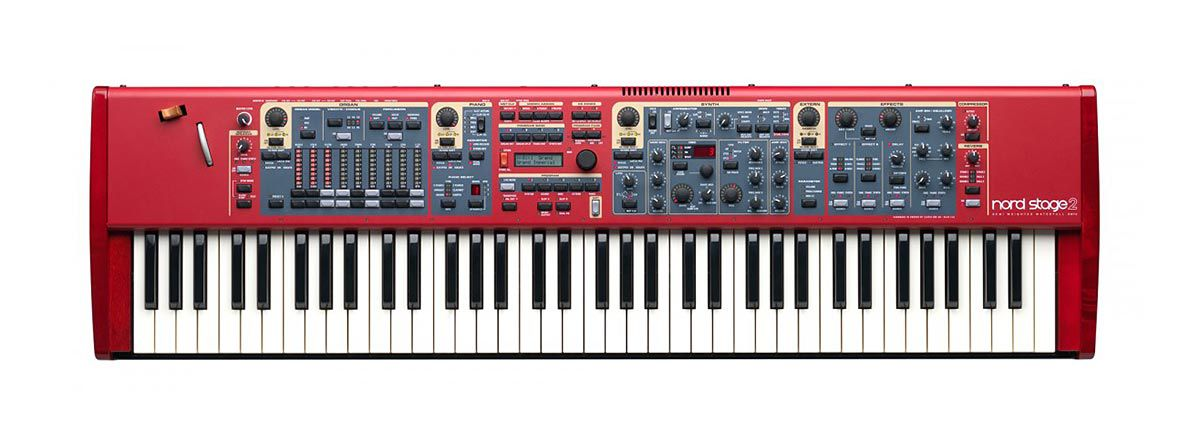 Nord Stage 2 SW73 Semi Weighted Waterfall - 73 Teclas